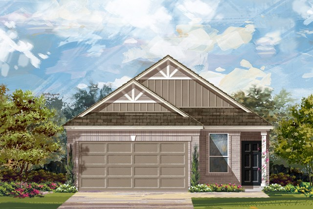 New Homes in Manor, TX - Plan F-1585 F