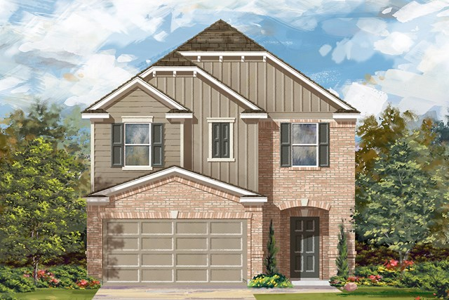 New Homes in Manor, TX - Plan F-1771 F