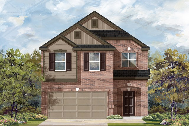 New Homes in Manor, TX - Plan F-1909 F