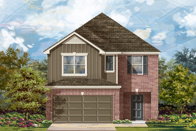 New Homes in Manor, TX - Plan F-2038 F