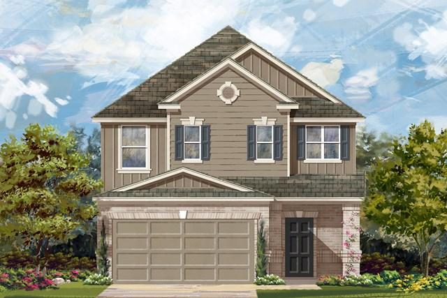 New Homes in Manor, TX - Plan F-2495 F