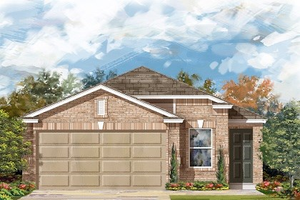 New Homes in Manor, TX - Plan F-1234 C