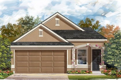 New Homes in Manor, TX - Plan F-1234 D
