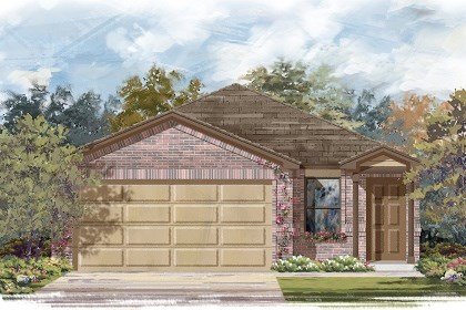 New Homes in Manor, TX - Plan F-1340 C