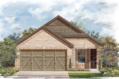 New Homes in Manor, TX - Plan F-1340 E