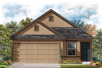 New Homes in Manor, TX - Plan F-1353 D