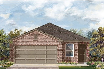 New Homes in Manor, TX - Plan F-1585 C