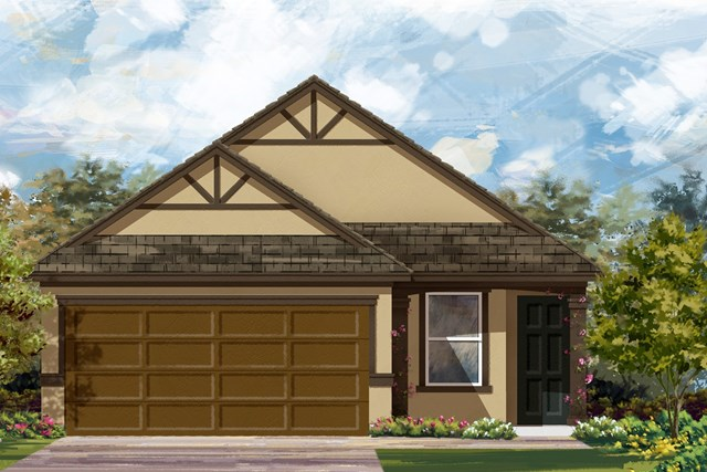 New Homes in Manor, TX - Plan F-1585 D