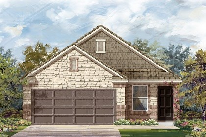 New Homes in Manor, TX - Plan F-1585 E