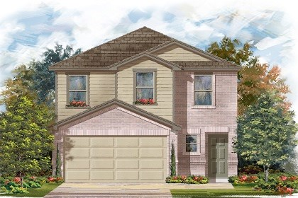 New Homes in Manor, TX - Plan F-1601 C
