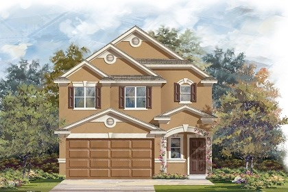 New Homes in Manor, TX - Plan F-1601 D