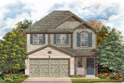 New Homes in Manor, TX - Plan F-1601 E