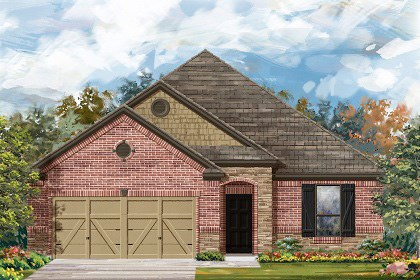 New Homes in Round Rock, TX - Plan A-1675-C