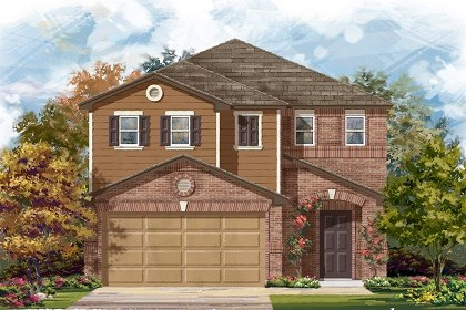 New Homes in Manor, TX - Plan F-1771 C