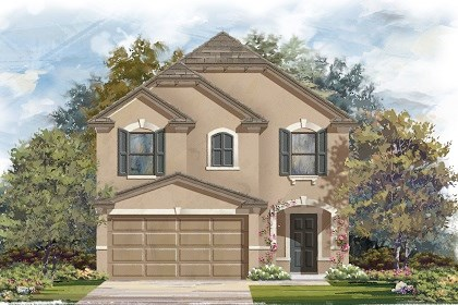 New Homes in Manor, TX - Plan F-1771 D