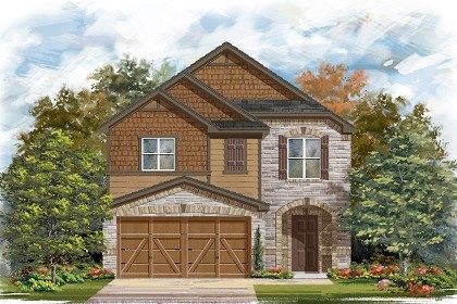 New Homes in Manor, TX - Plan F-1771 E