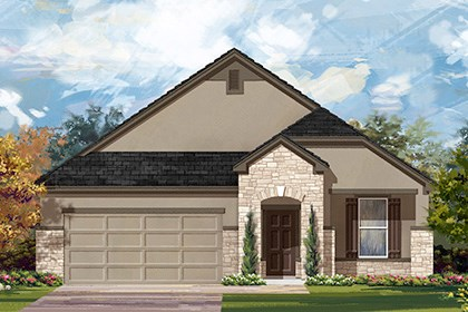 New Homes in Manor, TX - Plan A-1792 D