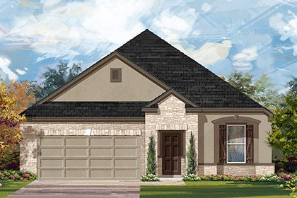 New Homes in Manor, TX - Plan A-1965 D
