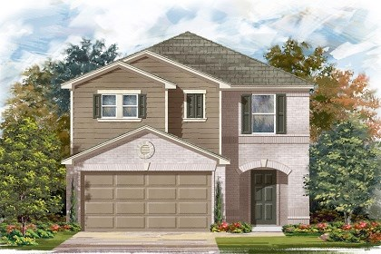 New Homes in Manor, TX - Plan F-2038 C