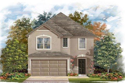 New Homes in Manor, TX - Plan F-2038 D