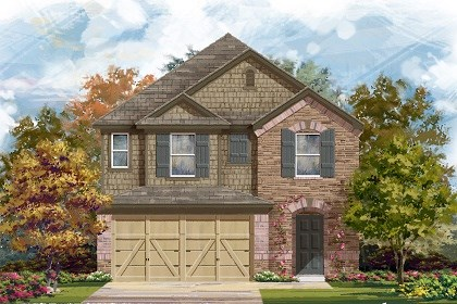 New Homes in Manor, TX - Plan F-2038 E