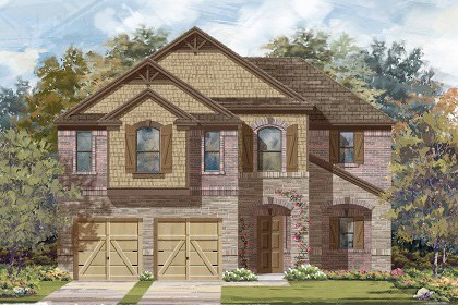 New Homes in Manor, TX - Plan A-2183 C