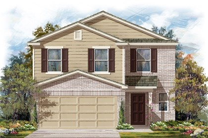 New Homes in Manor, TX - Plan F-2239 C