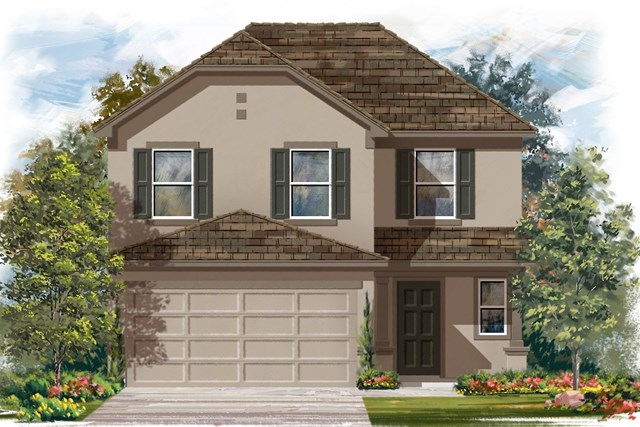 New Homes in Manor, TX - Plan F-2239 D