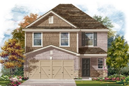 New Homes in Manor, TX - Plan F-2239 E
