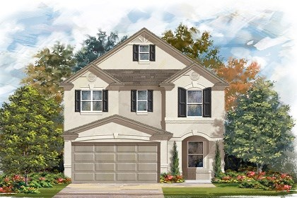 New Homes in Manor, TX - Plan F-2411 D