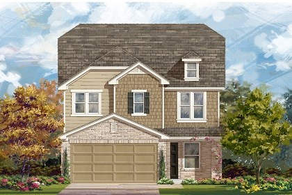 New Homes in Manor, TX - Plan F-2411 E