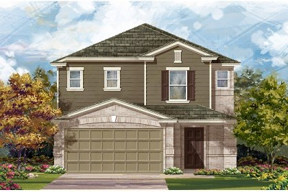 New Homes in Manor, TX - Plan F-2495 C