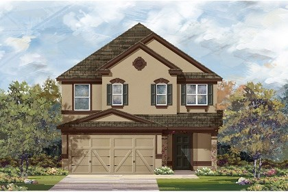 New Homes in Manor, TX - Plan F-2495 D
