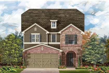 New Homes in Manor, TX - Plan F-2495 E