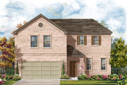 New Homes in Manor, TX - Plan A-2502 A