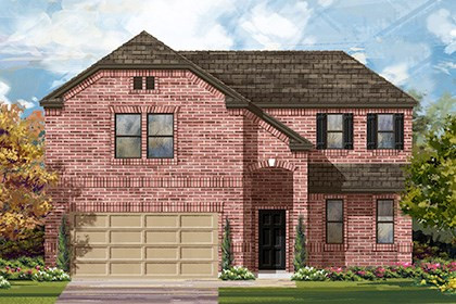 New Homes in Manor, TX - Plan A-2502 B