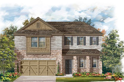 New Homes in Manor, TX - Plan A-2502 C