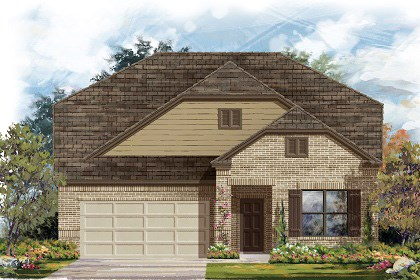 New Homes in Manor, TX - Plan A-2655 B