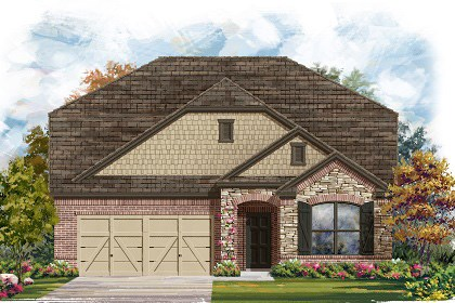 New Homes in Manor, TX - Plan A-2655 C