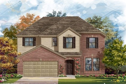 New Homes in Manor, TX - Plan A-2797 A