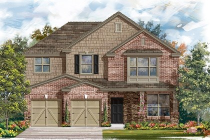 New Homes in Manor, TX - Plan A-2797 C