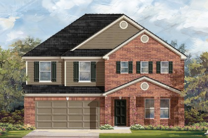 New Homes in Manor, TX - Plan A-2881 B
