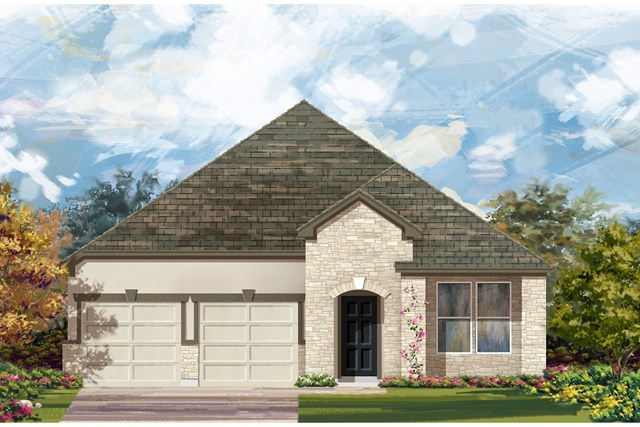 New Homes in Manor, TX - Plan A-2089 D