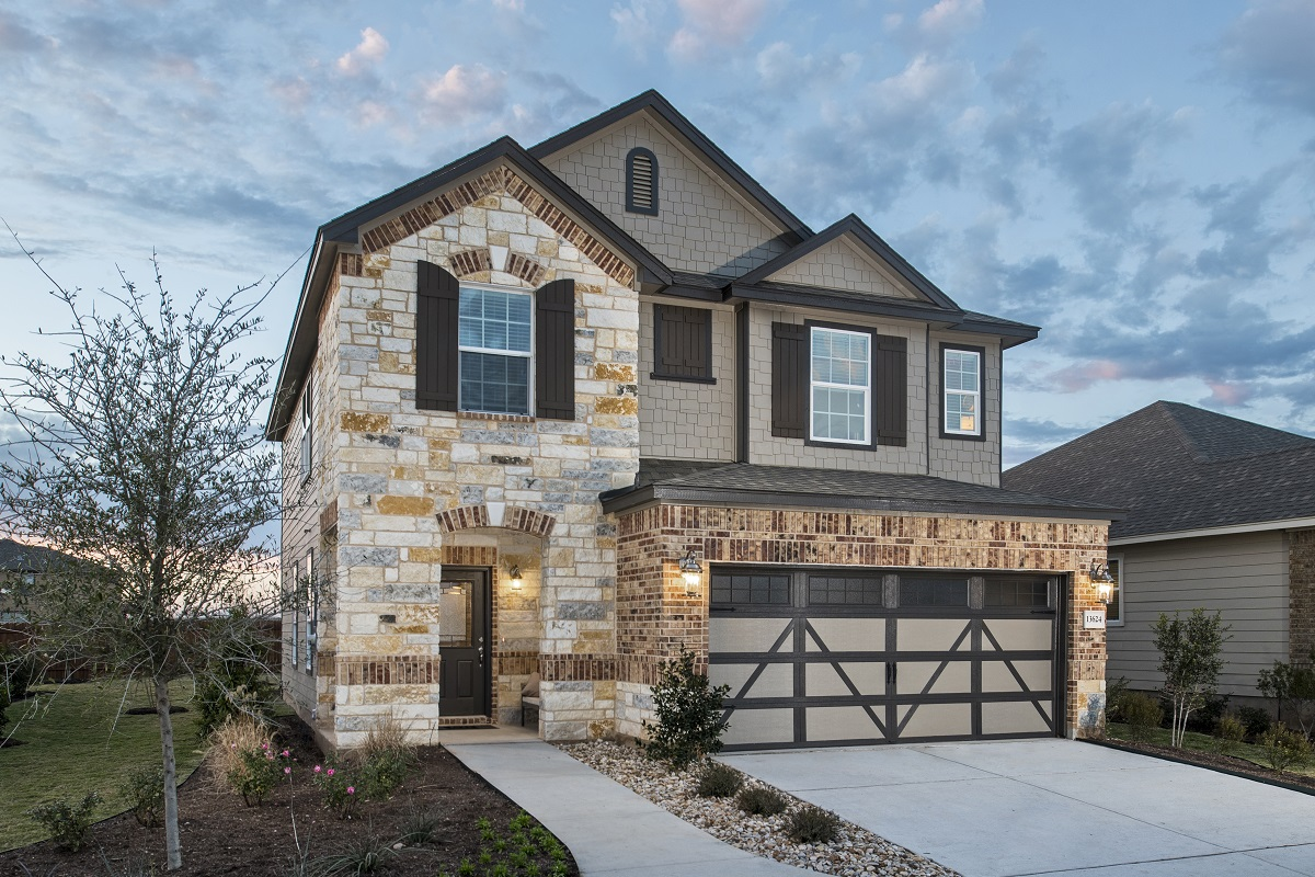 New Homes In Manor, TX   Presidential Meadows   Heritage Collection Plan  F 2038