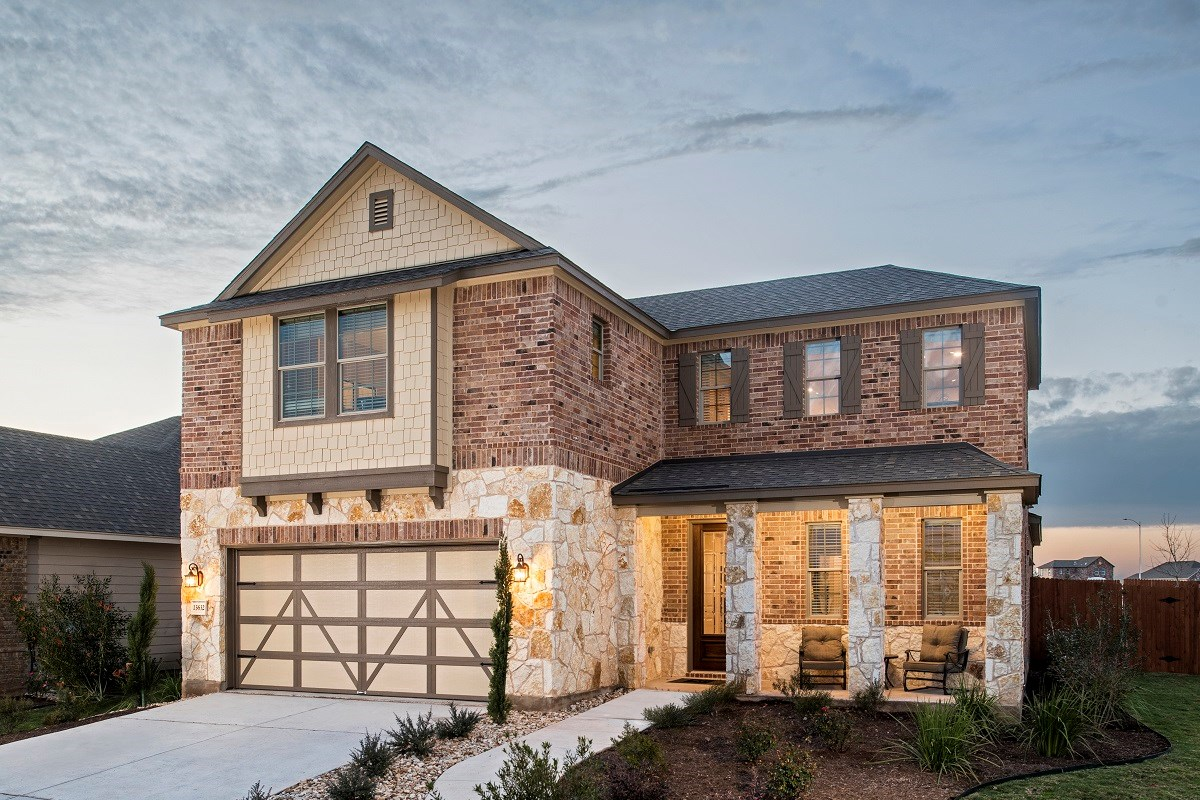New Homes in Manor, TX - Presidential Meadows - Classic Collection Plan A-2502
