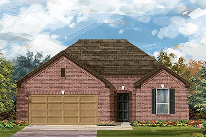 New Homes in Taylor, TX - Plan A-1792 A