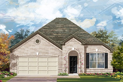 New Homes in Taylor, TX - Plan A-1792 B