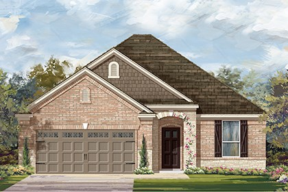 New Homes in Austin, TX - Plan A-1792 C