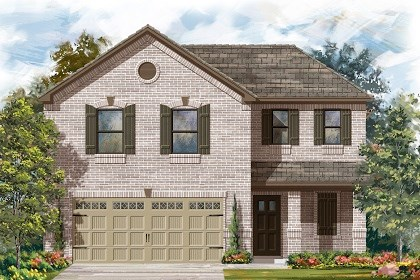 New Homes in Austin, TX - Plan E-1895 I