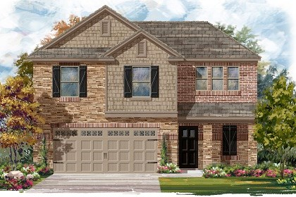 New Homes in Austin, TX - Plan E-1895 J